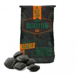 Acacia Briketten 100% FSC