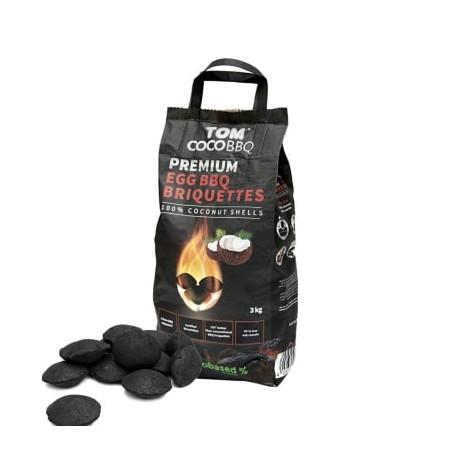 Mooie Premium brikketten vervaardigd uit kokosnoot.